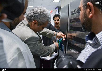 بازدید معاون علمی رییس جمهور از گروه صنعتی انتخاب در اصفهان