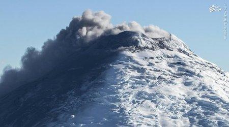 کوه آتشفشانی «کوتوپاکسی» در اکوادور