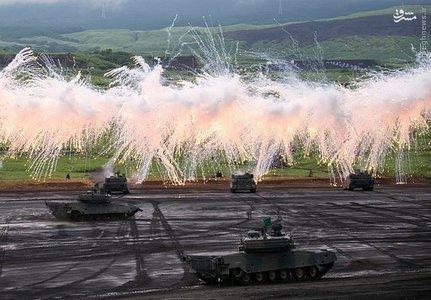 عملیات آموزشی دفاع نظامی در ژاپن