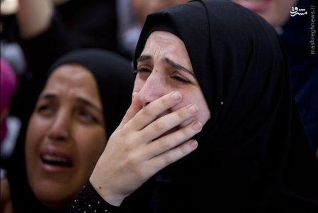 عزاداری برای جوان ۲۵ ساله که به تازگی در فلسطین اشغالی کشته شده است