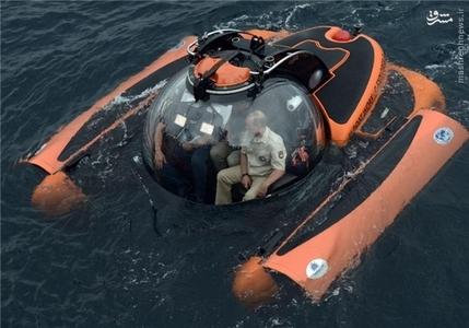 رئیس جمهور روسیه بوسیله زیردریایی کوچکی به اعماق دریا در شرق اوکراین سفر کرد