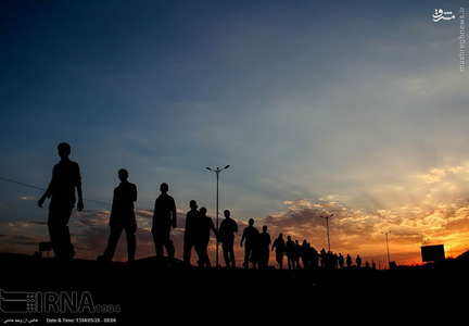 زائرین پیاده امام رضا (ع)