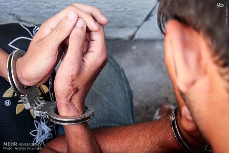 ع پسربچه تصاویر/ دستگیری 12 باند سارق و کیف قاپ