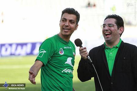 resized 1193105 467 - عکس/ دیدار تیم های فوتبال منتخب ستارگان ایران و جهان
