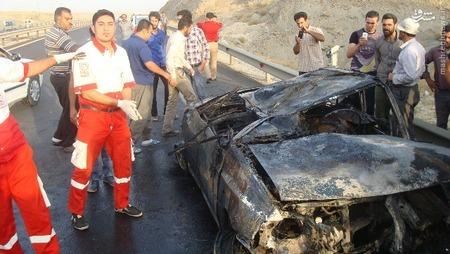 حوادث همدان حوادث مرگبار تصادف پراید اخبار همدان اخبار تصادف