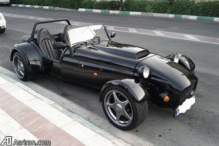 رونمایی از عجیب ترین خودرو در تهران + عکس