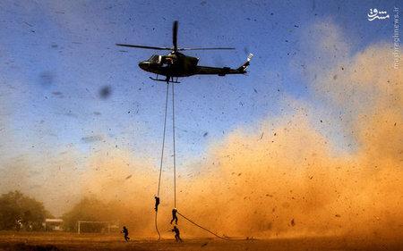 تمرین نظامی در اندونزی