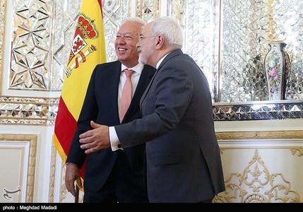 دیدار وزرای خارجه ایران و اسپانیا