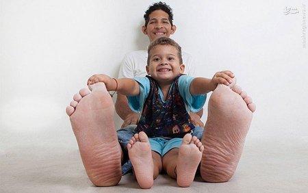 جیسون اورلاندو؛ دارنده بزرگترین پا در جهان