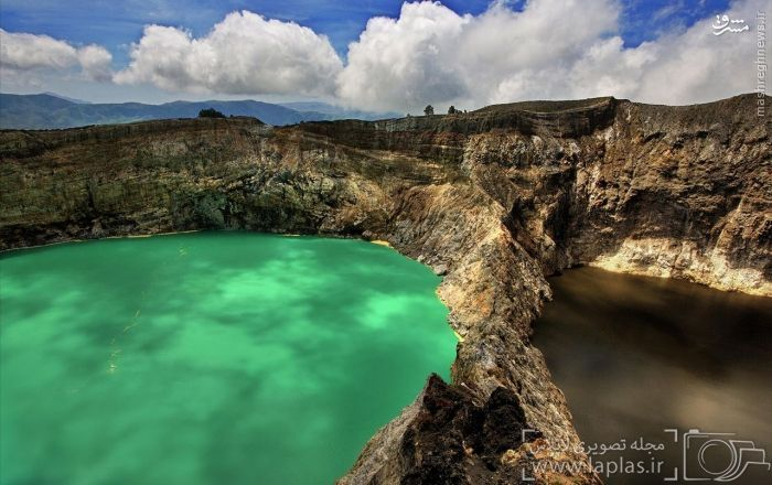دریاچه دهانه کلیموتو، اندونزی