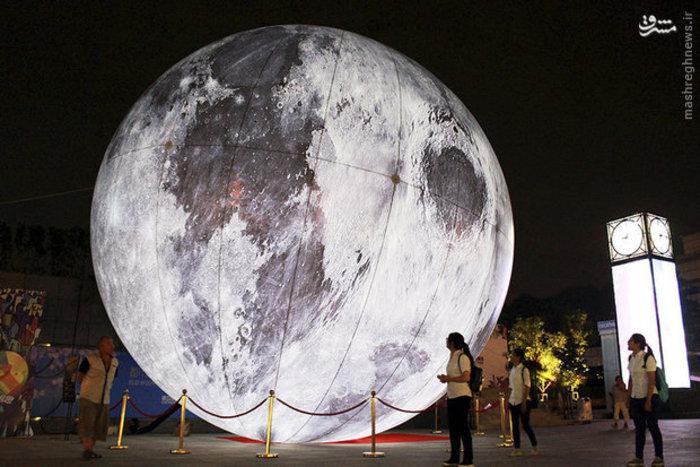 بازدید از بالون ماه در جشنواره پاییز استان «نانجینگ» چین