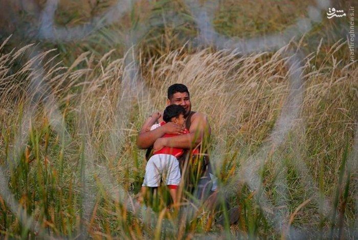 مهاجران سرگردان در مرز مجارستان