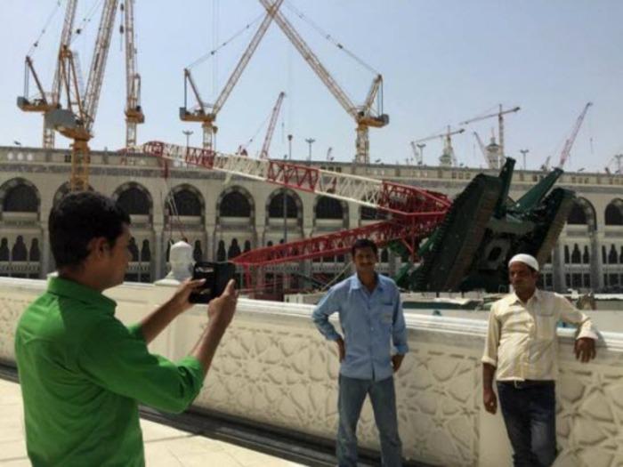 مسجدالحرام چند روز پس از حادثه