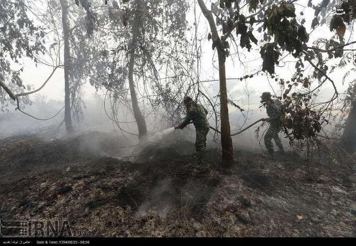 آتشسوزی گسترده در کالیفرنیا