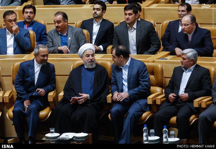 روحانی در گردهمایی شرکتهای دانشبنیان حوزه سلامت