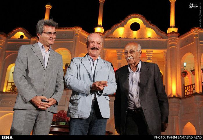 هنرمندان در جشن سینمای کرمان