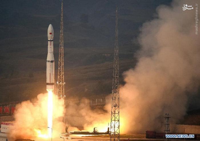 پرتاب موشک جدید حامل ماهواره از چین (Xinhua)
