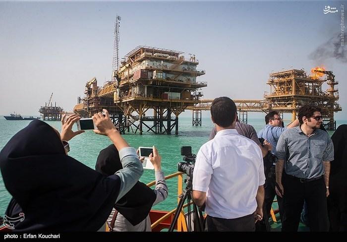 سکوی نفتی بهرگانسر نخستین چاه نفتی در خلیج فارس در منطقه بهرگانسر در سال ۱۳۴۰ حفاری شده است. این سکو در شمال غربی خلیجفارس و در فاصله ۵۷ کیلومتری منطقه بهرگانسر در استان بوشهر واقع است