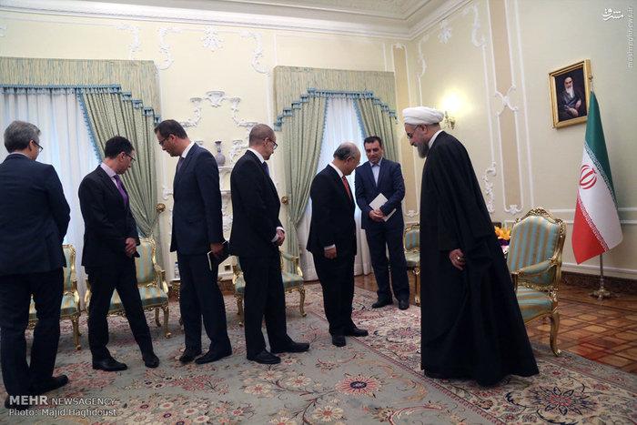 یوکیا آمانو دبیر کل آژانس بین المللی انرژی اتمی صبح امروز یکشنبه با حسن روحانی رئیس جمهور دیدار و گفتگو کرد.