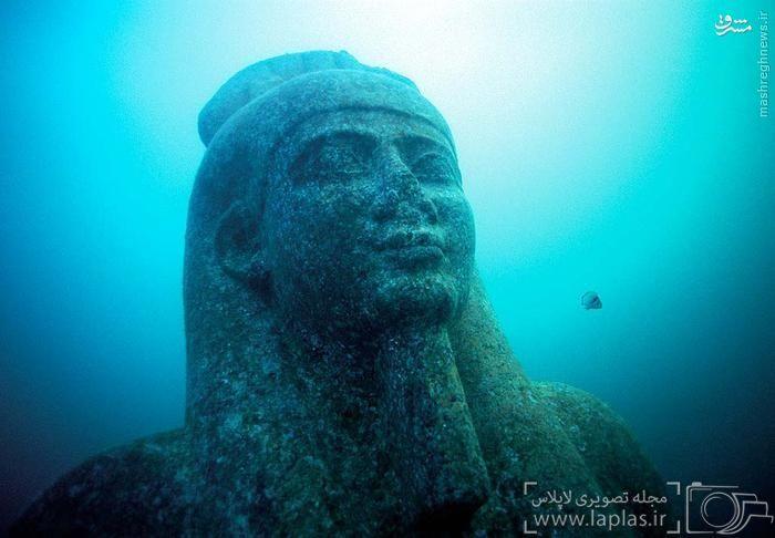 شهر 1500 ساله زیر آب