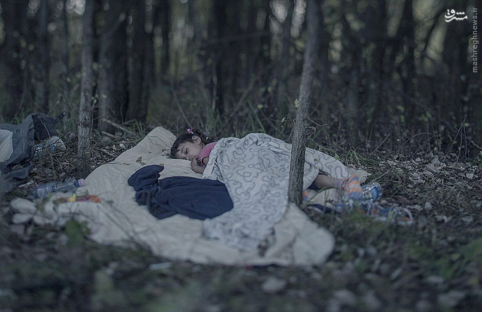 وضعیت دردناک کودکان سوری در مرزهای اروپا