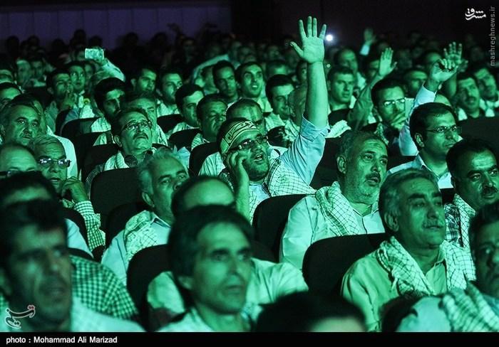 همایش بزرگ بسیجیان شهرداری تهران