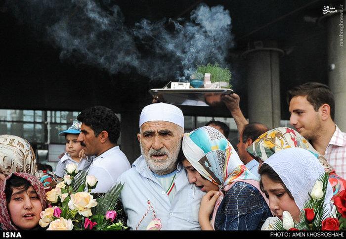 ورود اولین گروه حجاج به ایران