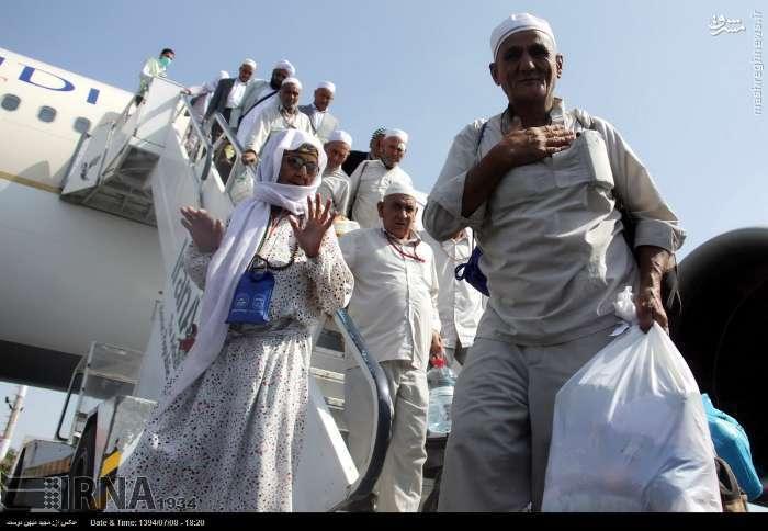 عکس/ بازگشت کاروان حجاج گلستان با 30 شهید و مفقود