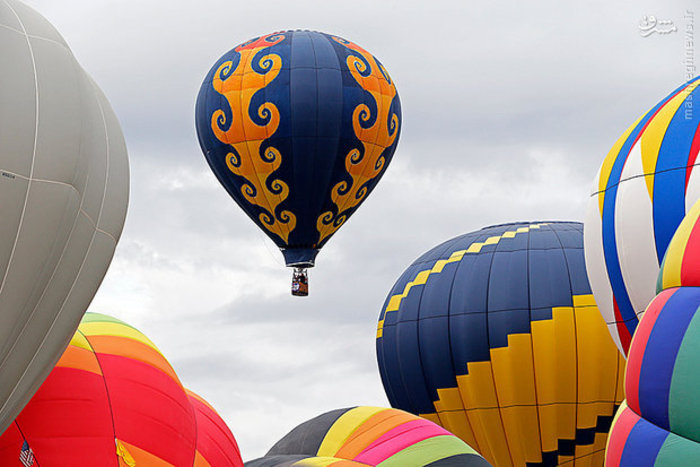 جشنواره بین المللی بالن در «آلبوکرک»