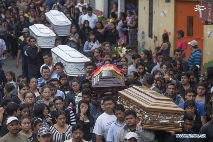 تلفات رانش زمین در گواتمالا به ۸۶ تن رسید