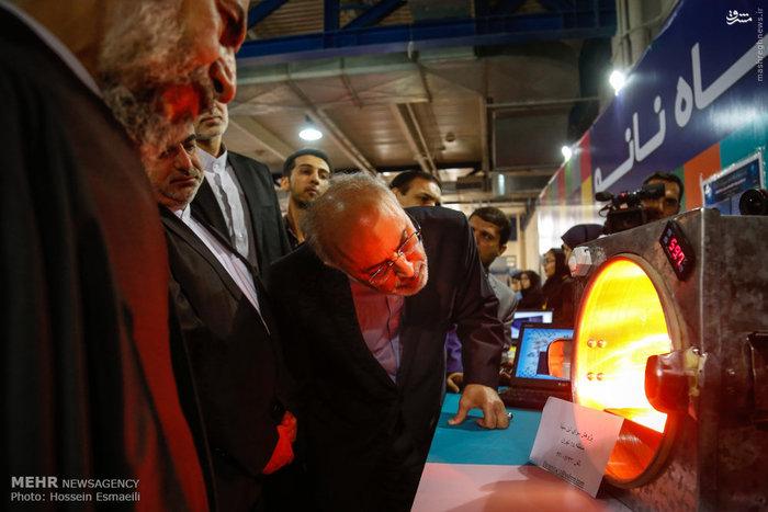 افتتاح هشتمین جشنواره نانوفناوری