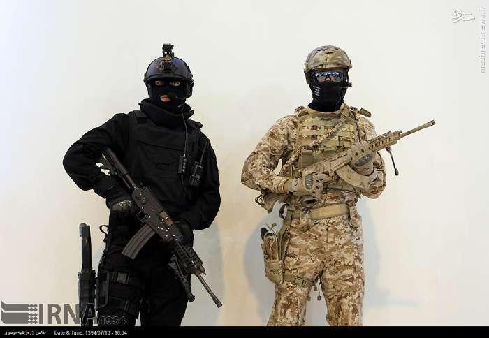 نمایشگاه لوازم و تجهیزات پلیسی و امنیتی