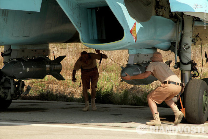 آمادهسازی جنگندههای روسی برای شکار داعش