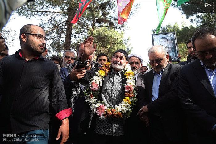 مراسم استقبال از خانواده شهید ستار یکه زارع
