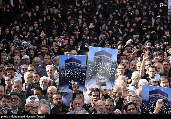 تشییع پیکر جان باختگان فاجعه منا در مشهد
