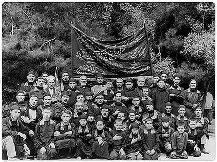 حسینیه اعظم زنجان - تهران - فرستنده : فاطمه کیانی