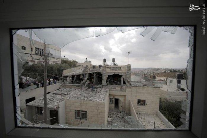 ویرانه هایی که رژیم صهیونیستی برای فلسطینی ها به ارمغان آورده است