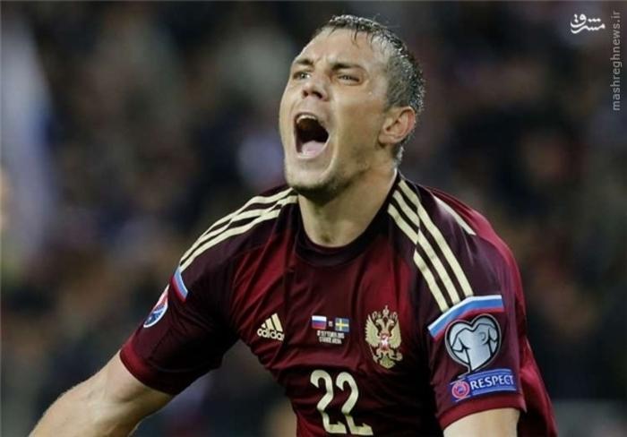 3- آرتم دزوبا، روسیه، 8 گل زده