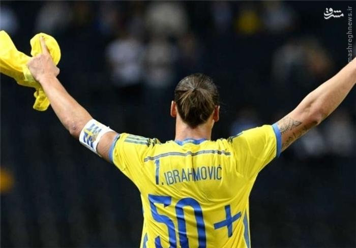 4- زلاتان ایبراهیموویچ، سوئد، 7 گل زده