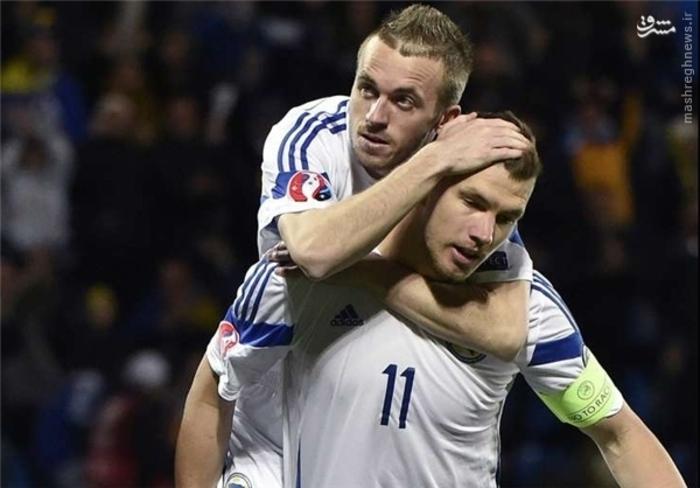 5- ادین ژکو، بوسنی و هرزگوین، 7 گل زده