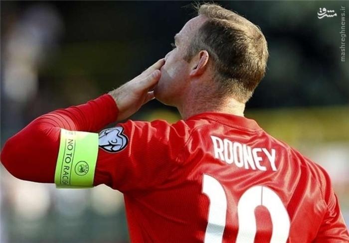6- وین رونی، انگلیس، 7 گل زده