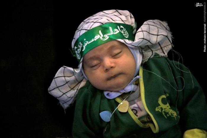 عکس تهران شهادت حضرت علی اصغر زندگینامه حضرت علی اصغر اخبار تهران