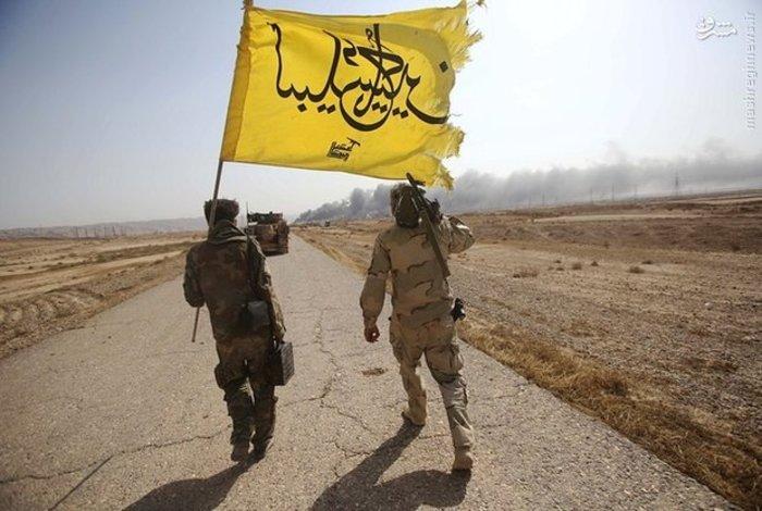 نیروهای عراق نزدیک مواضع داعش در شمال تکریت