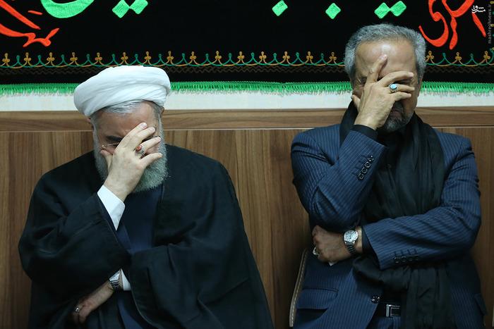 رئیس جمهور در مراسم عزاداری سالار شهیدان