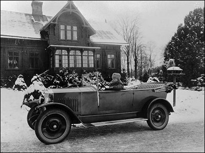 اولین خودروی سواری «ولوو»