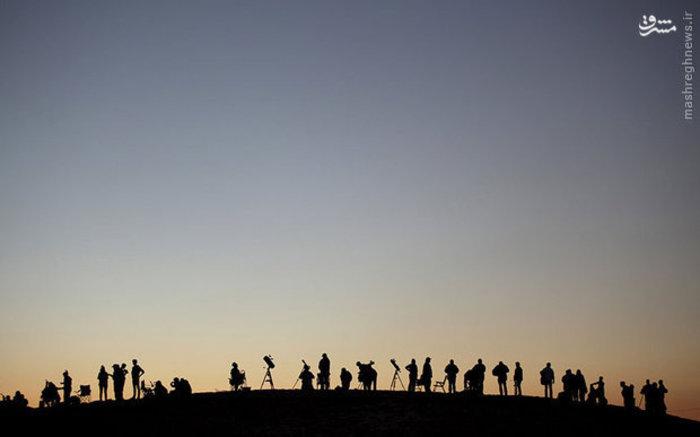 کلاس درس نجوم در صحرایی در مکزیک