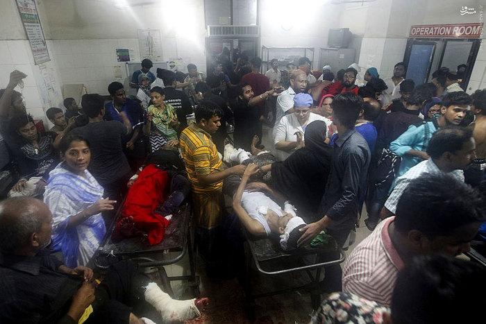 بمبگذاری داعش میان عزاداران بنگلادشی