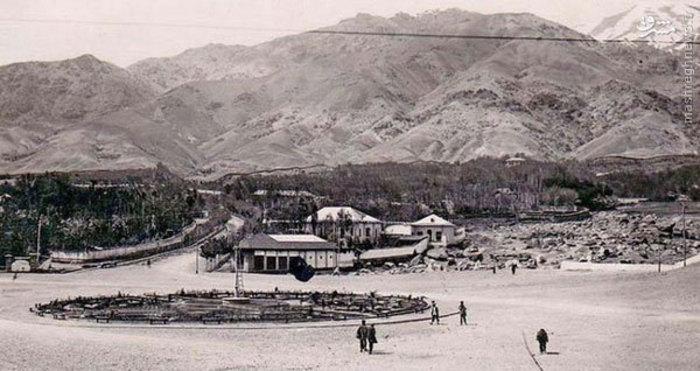 عکسی از میدان تجریش 84 سال پیش