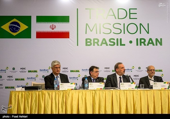 نشست مشترک هیئتهای تجاری ایران و برزیل
