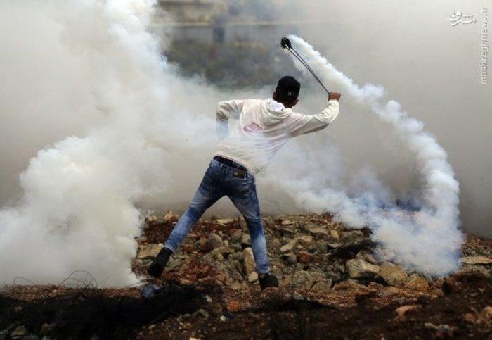 ادامه جریان اعتراضی مردم فلسطین مقابل رژیم اشغالگر قدس
